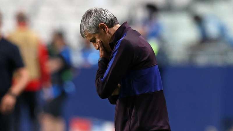 Setien dodges Barca future question after Bayern humiliation