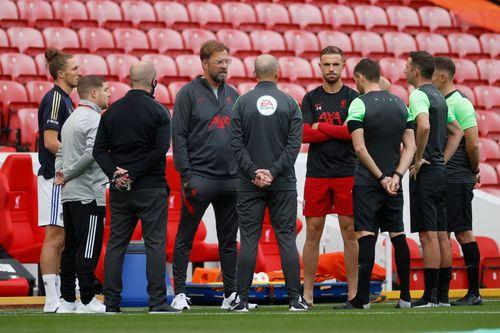 Klopp excuses Liverpool rustiness in EPL opener vs Leeds