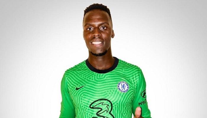 New Chelsea goalkeeper Edouard Mendy