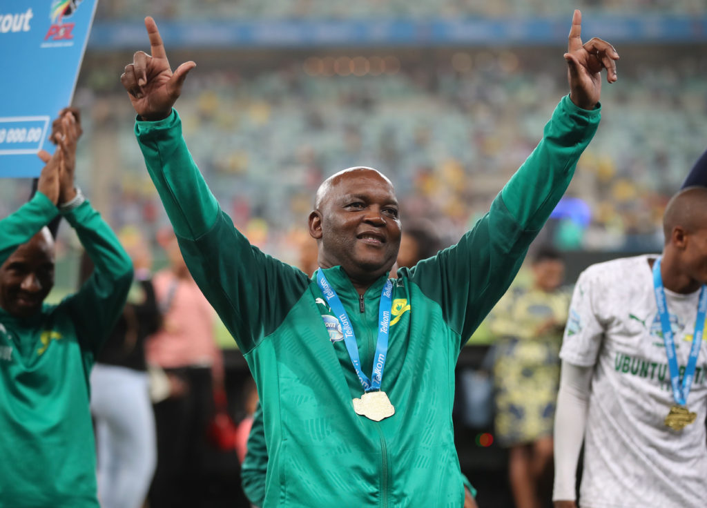 Mosimane wins Coach of the Year award to bring down curtain on Sundowns career