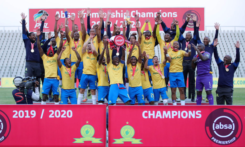 Sundowns crowned PSL champions