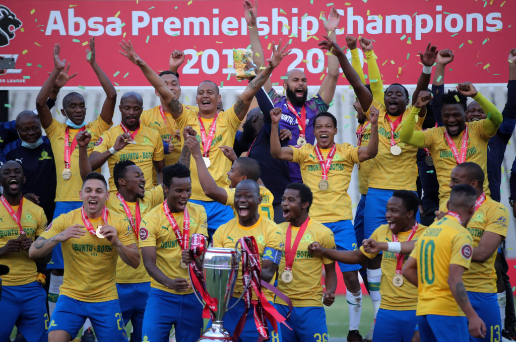 Watch: Sundowns secure third successive PSL title