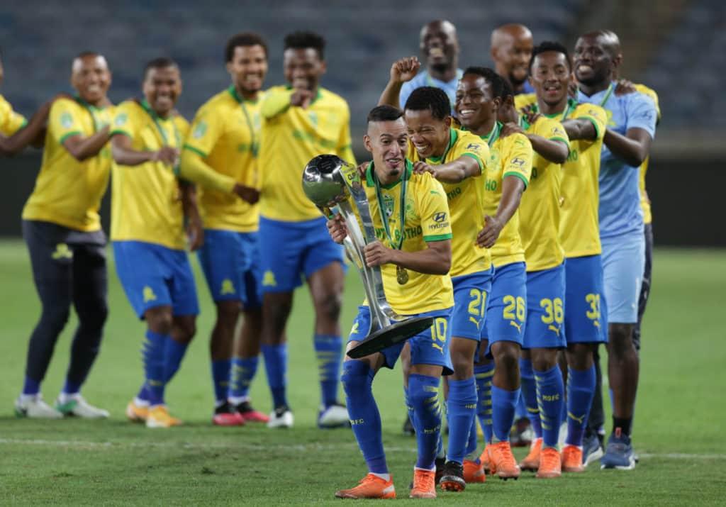Gallery: Sundowns celebrating treble success after Nedbank Cup triumph