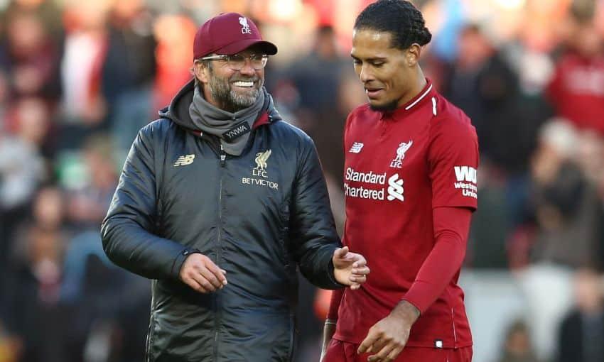 Klopp impressed with Liverpool response to being without Van Dijk