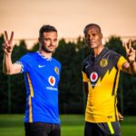 Kaizer Chiefs assistant coaches Dillon Sheppard and Arthur Zwane