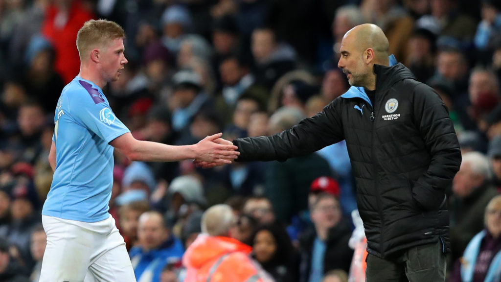 Guardiola hoping De Bruyne commits future to Manchester City