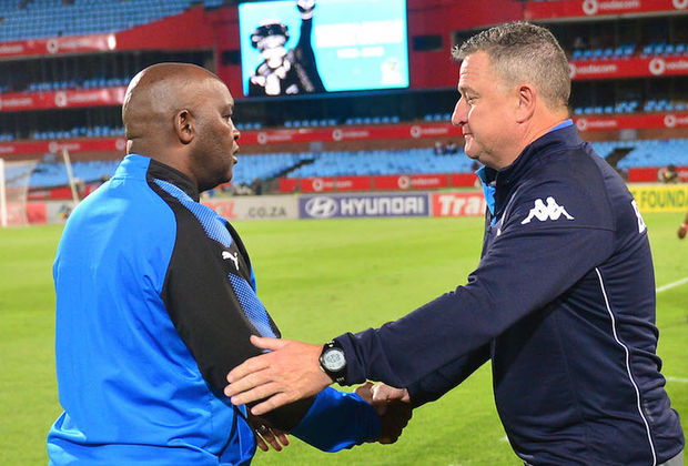 Pitso: I would be happy to see Hunt at Chiefs or Pirates