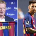 It was a conflict between Messi and the club - Koeman