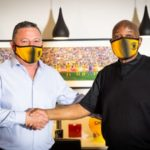Gavin Hunt and Kaizer Motaung