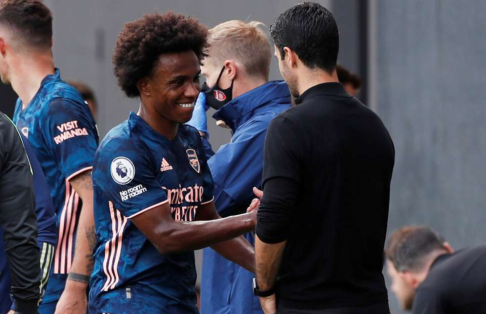 Trophy-hungry Willian wants to fill his stomach at Arsenal - Arteta
