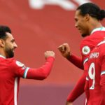 Van Dijk hits out at Salah's doubters after nervy Liverpool win