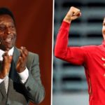 Pele congratulates Ronaldo after Portugal star scores 100th international goal