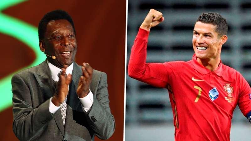 Pele congratulates Ronaldo after Portugal star scores 100th international goal
