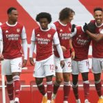 Saka, Pepe fires Arsenal to victory