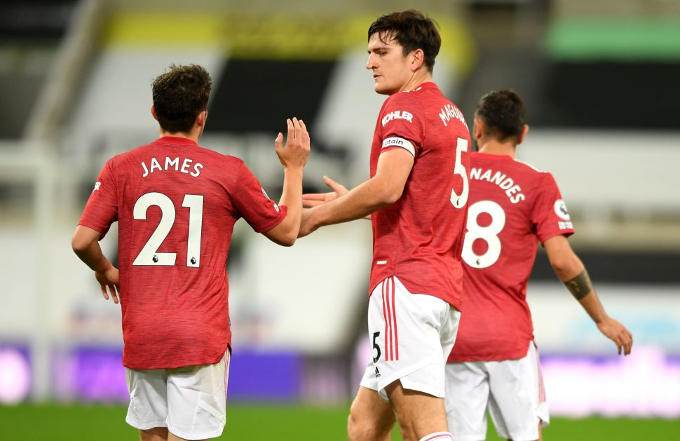Solskjaer hails Maguire's 'very good performance' at Newcastle
