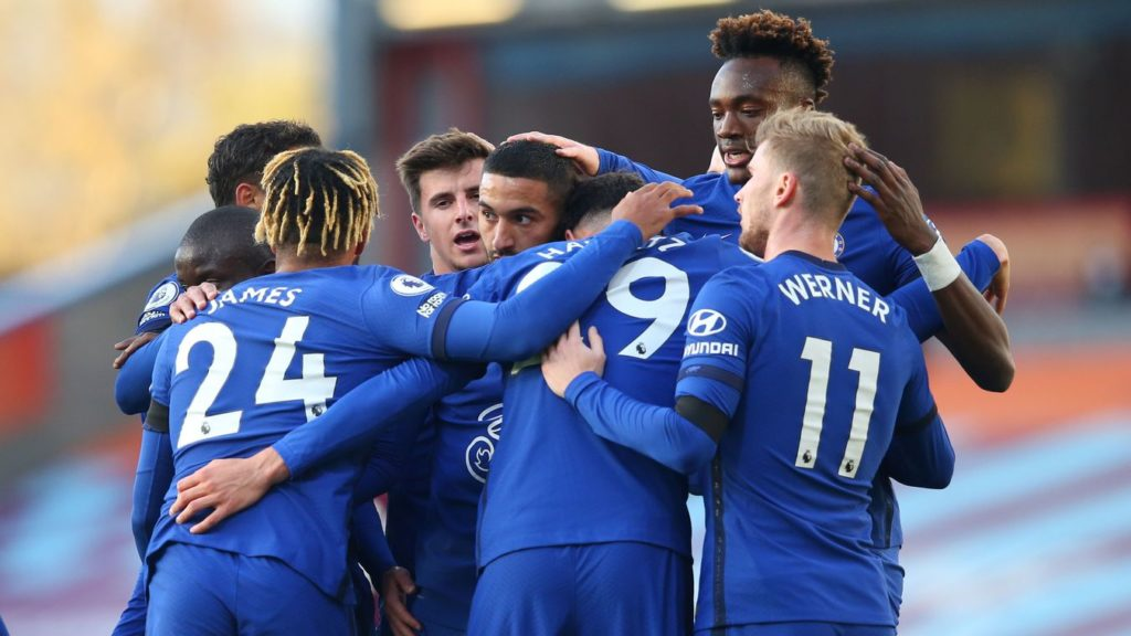 Ziyech shines as Chelsea ease to victory at struggling Burnley