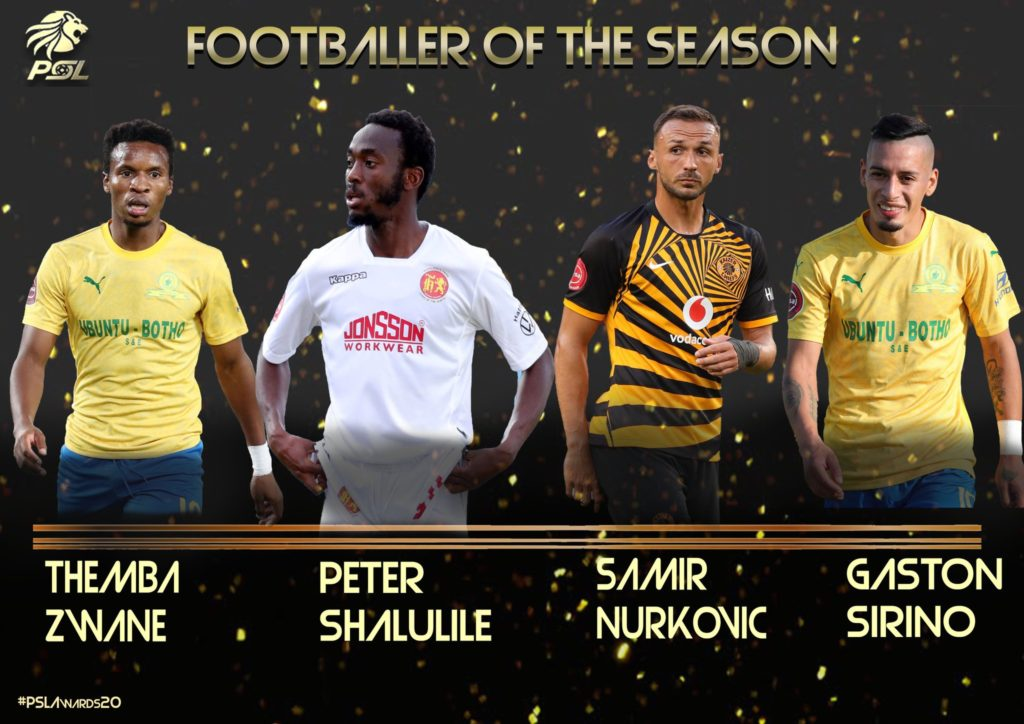PSL confirm Player of the Season Nominees