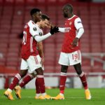 Arsenal ease to victory over Dundalk despite wholesale changes