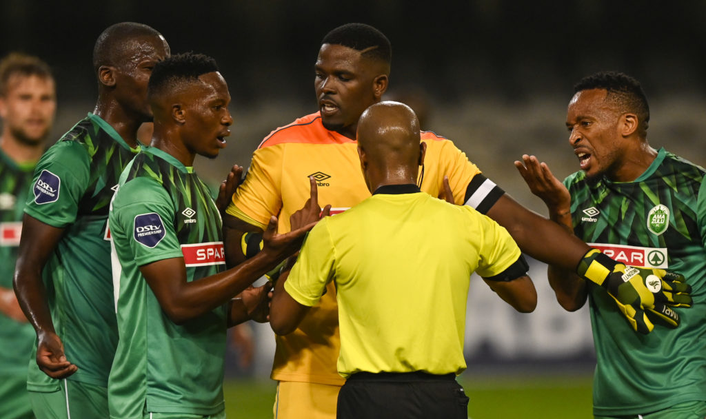 Penalty or free kick for Pirates?