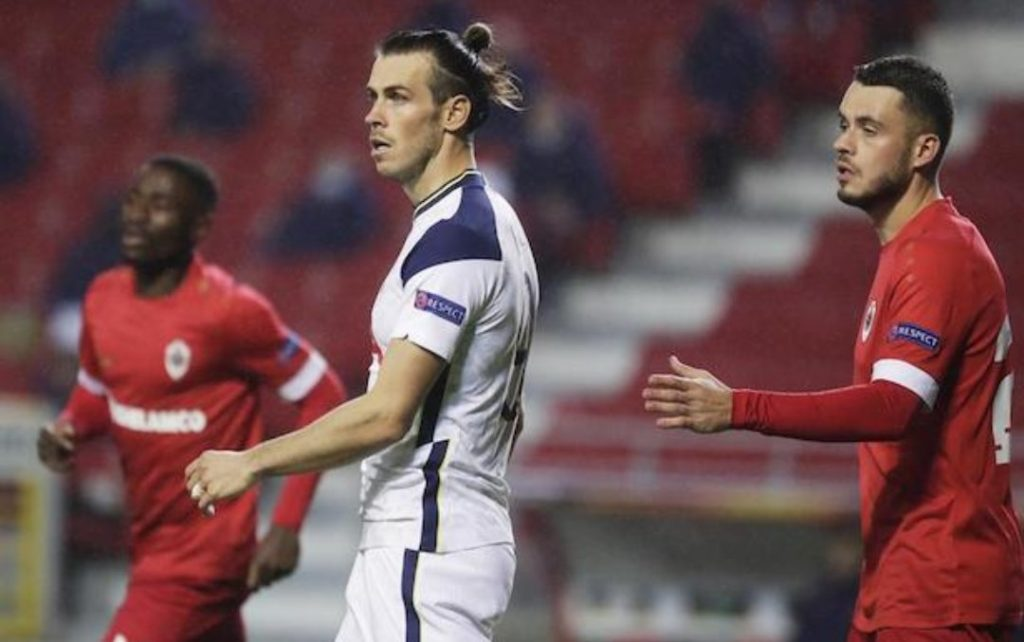 Tottenham beaten by Royal Antwerp despite half-time overhaul