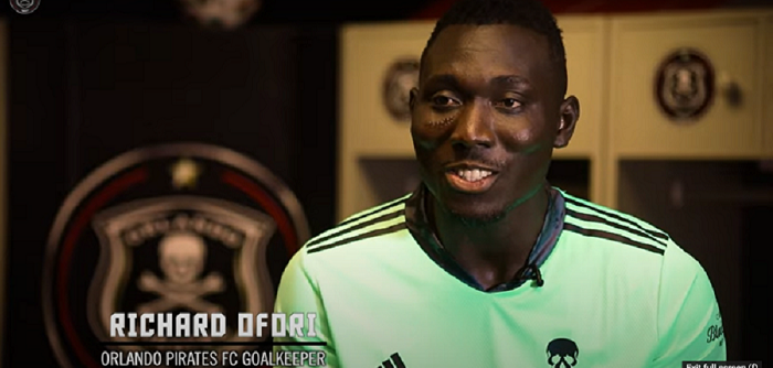 Richard Ofori, Orlando Pirates