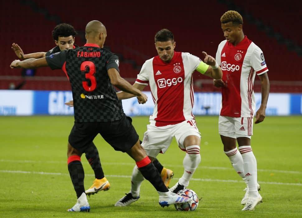Fabinho fills Van Dijk void superbly as Liverpool win at Ajax