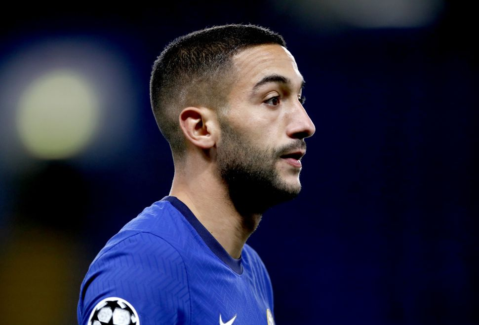 Ziyech plans to do talking on the pitch at Chelsea