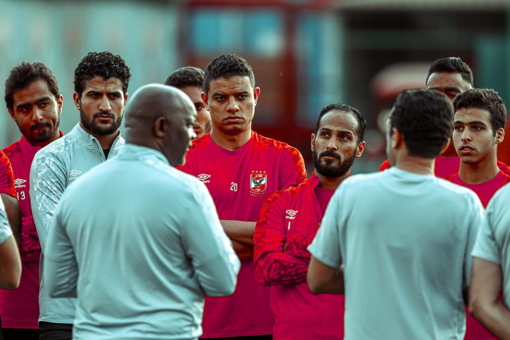 Five youngsters join Pitso's Al Ahly first team training
