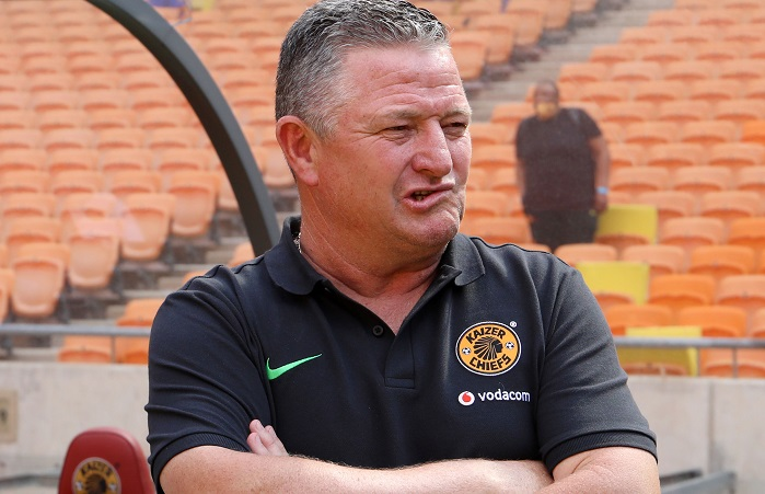 Gavin Hunt, coach of Kaizer Chiefs