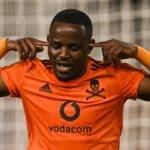 Gabadinho Mhango of Orlando Pirates