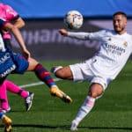 Hazard ends goal drought as Real thrash Huesca