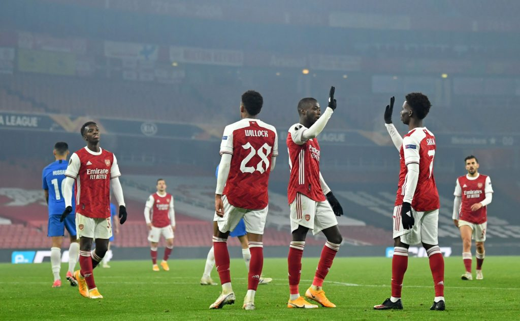 Arsenal come from behind to see off Molde