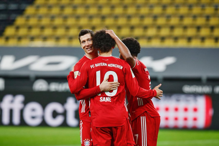 Euro wrap: Bayern move two points clear after comeback win over Dortmund