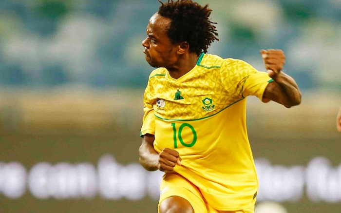 Percy Tau, Bafana Bafana