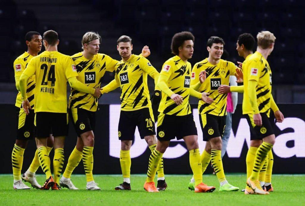 European wrap: Haaland hits four as Dortmund crush Hertha Berlin