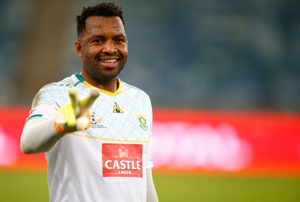 Khune aims to help Bafana perform at their 'best level'