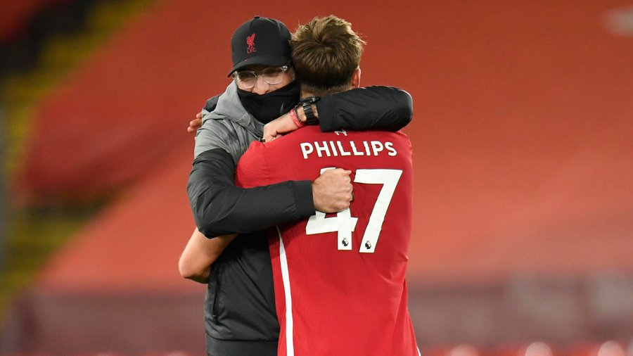 Klopp hails Jota, Phillips after win over West Ham