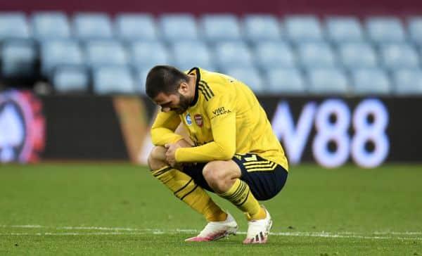 Arsenal defender Kolasinac tests positive for coronavirus