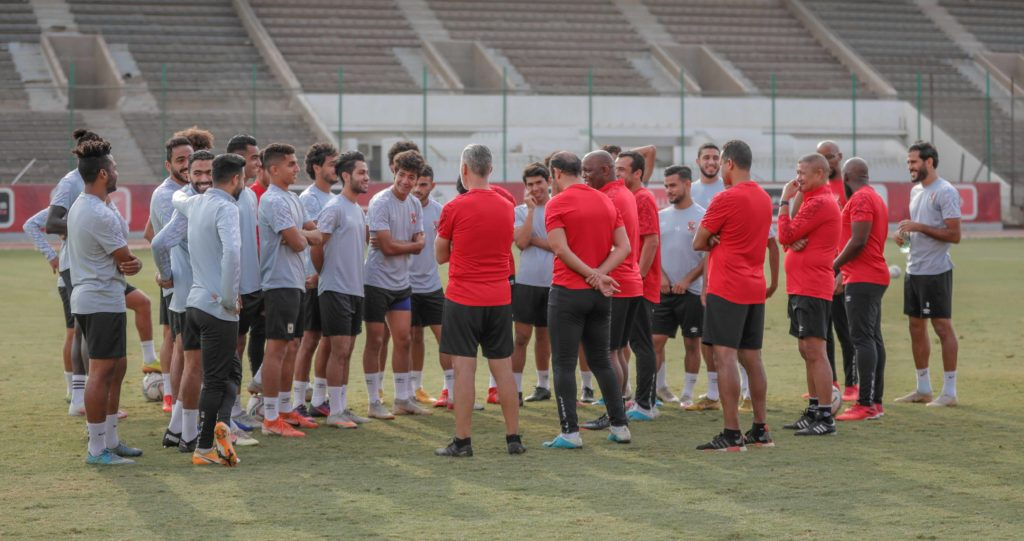 Pitso's Al Ahly to resume training on Thursday