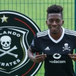 Jean-Marc Makusu Mundele of Orlando Pirates
