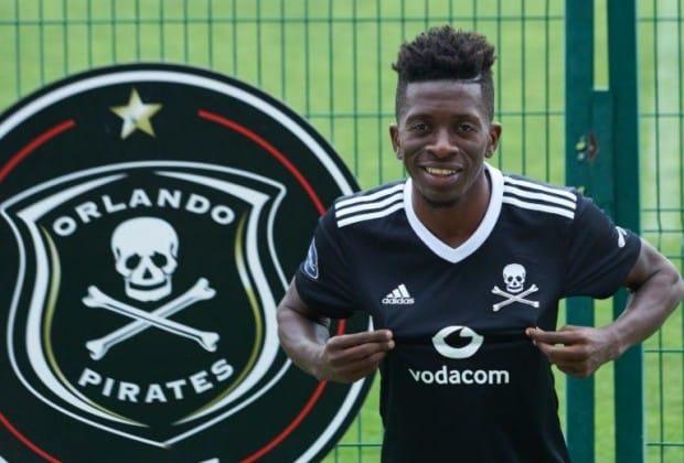 Jean-Marc Makusu Mundele of Orlando Pirates