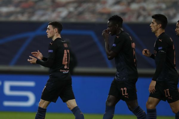Foden fires Man City into UCL knockout stages