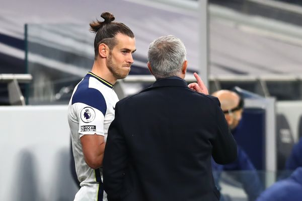 Gareth Bale and Jose Mourinho, Tottenham Hotspur, Premier League