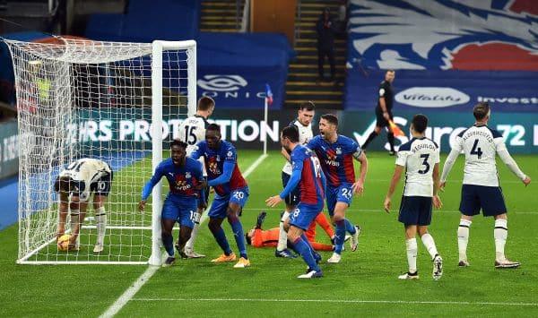 Schlupp goal denies Tottenham victory at Selhurst Park