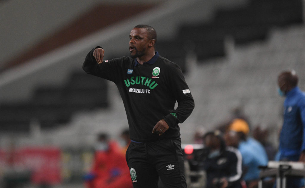 Dlamini steps down as AmaZulu head coach