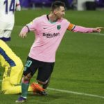 Messi breaks Pele's record as Barcelona ease to win at Real Valladolid