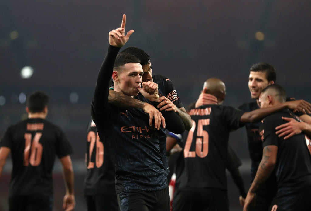 Highlights: Man City breeze past Everton to go 10 points clear