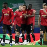 Cavani, Martial send Man Utd into semi-finals