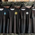 PUMA x BALR. collection reimagines Man City, Dortmund, Marseille, Milan kits in black