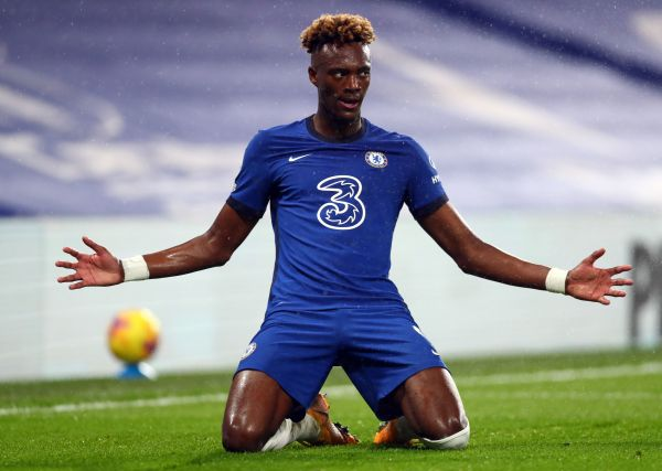 Lampard 'very happy' with Abraham's progression